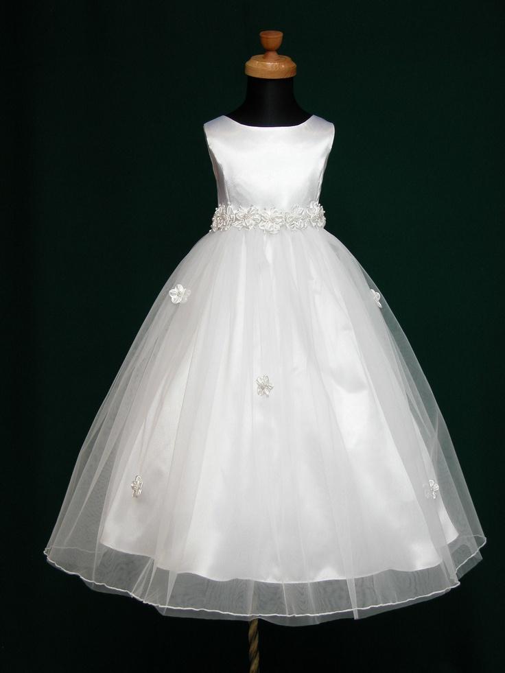 CuteKiddy.com: Angela Flower Girl Communion Dress