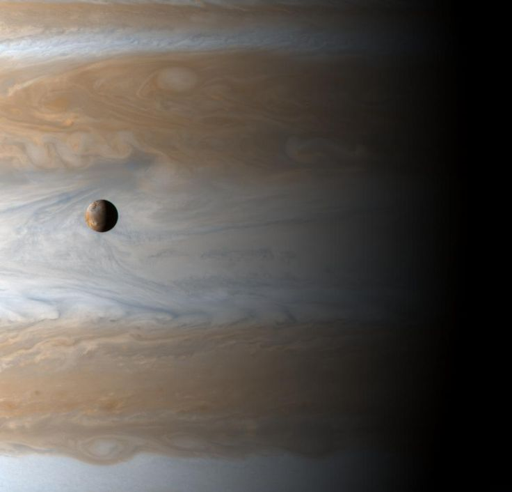 Nasa picture of the day / Moon over jupiter.