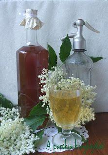 A parókia konyhájából: Bodzaszörp