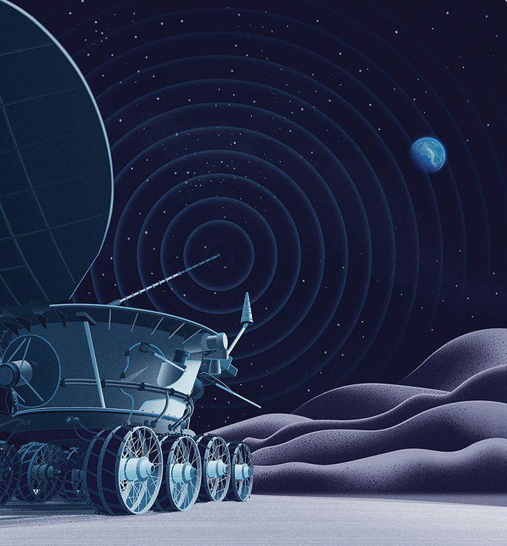 Sam Chivers Lunokhod rover