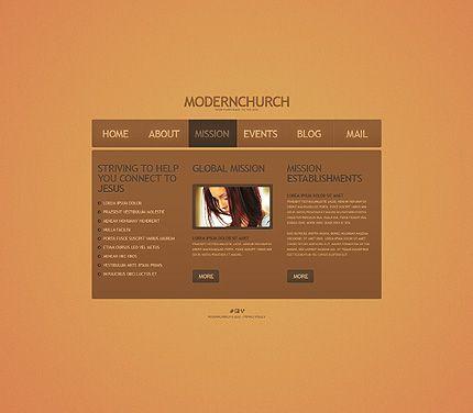 39 best church christian website templates images on. Black Bedroom Furniture Sets. Home Design Ideas