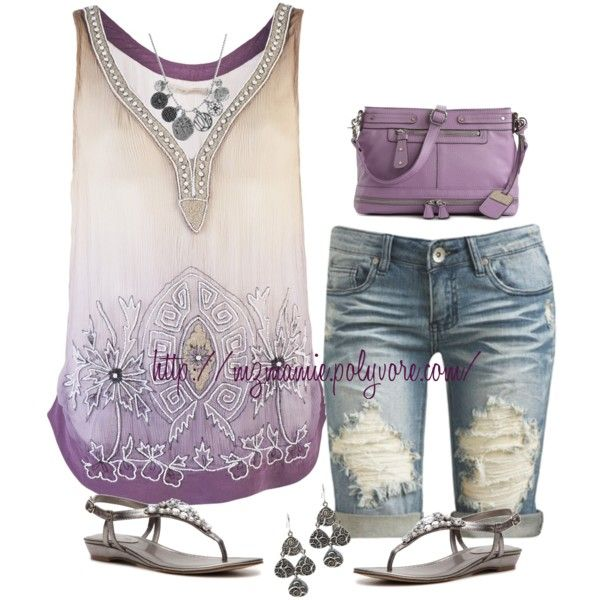 Untitled #1163 by mzmamie on Polyvore featuring polyvore, fashion, style, Of Two Minds, Arden B., Unisa, Jessica Simpson and Lucky Brand