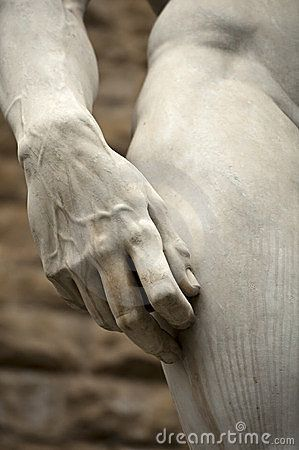 Michelangelo's David in Florence, the most perfect sculpture ever created. Photo by Pod666, via Dreamstime.