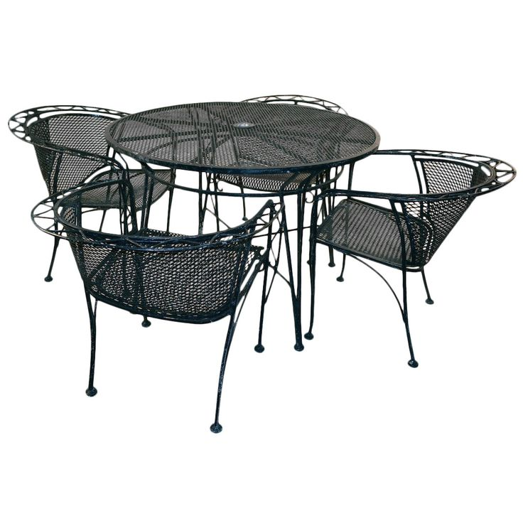 Five Piece Salterini Patio Set