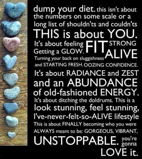 #unstoppable #abundanceofenergy #lifestylechange