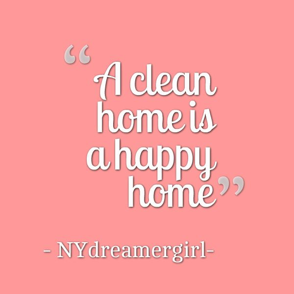 hate my home not being clean! Constantly picking up, sweeping, & wiping counter top etc down. Less stressed with a clean tidy home! Makes ya feel good.