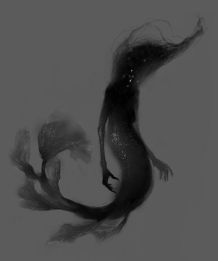 gunelgasanova:  Some concept design. Witchy sea creature.