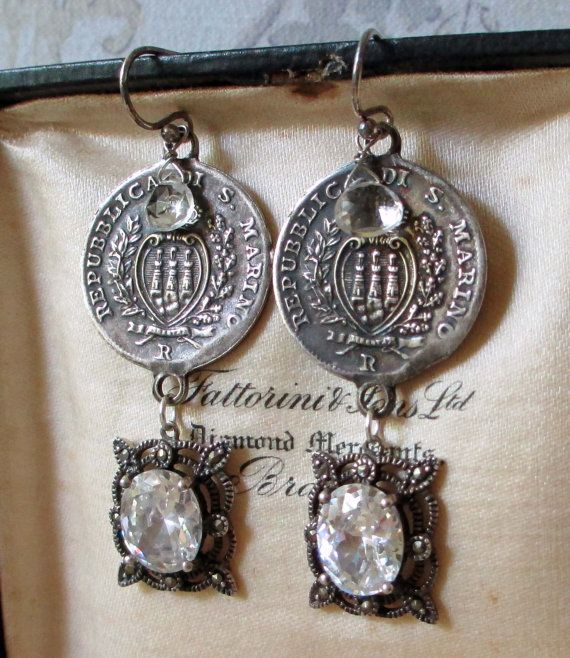RICHES of SAN MARINO  vintage assemblage by TheFrenchCircus, $69.00