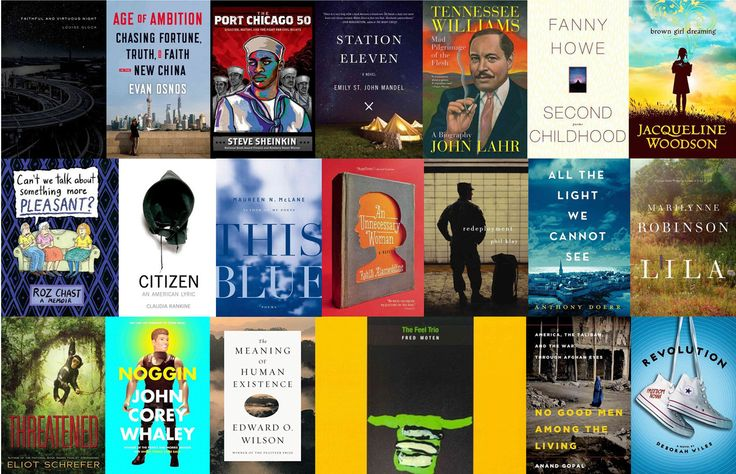 The shortlists for the 2014 National Book Award — for fiction, nonfiction, poetry and young people's literature