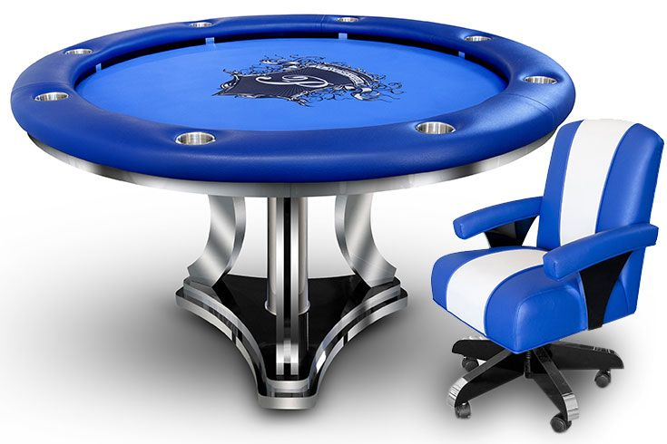 Falcon Modern Series Round Poker Table