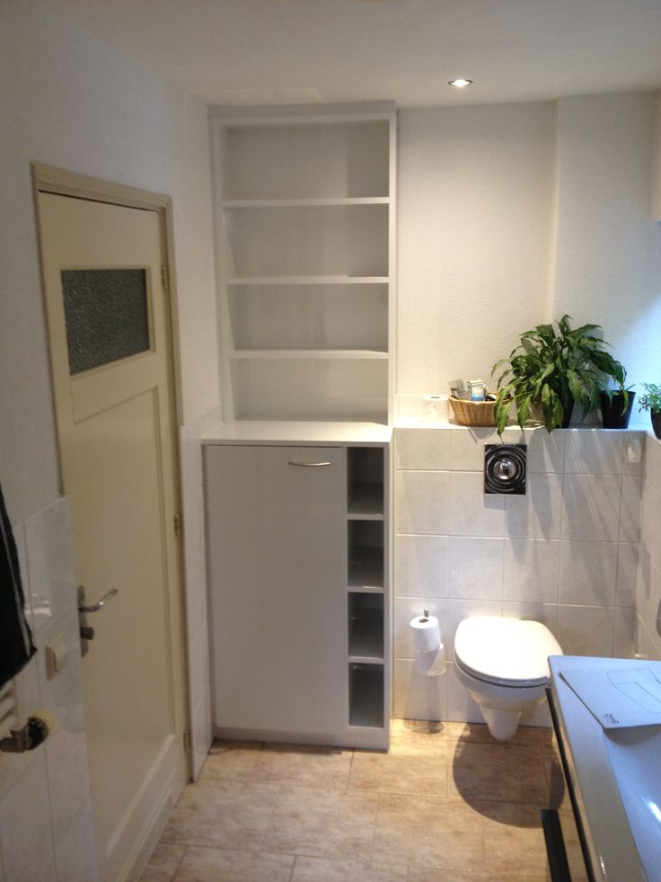 25+ beste ideeën over Badkamermeubel hoogglans wit op Pinterest ...