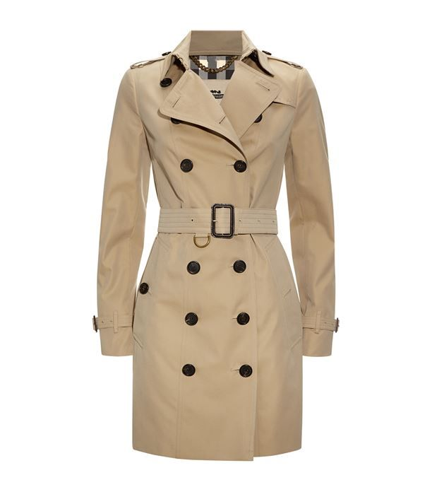 Burberry The Sandringham Mid-Length Heritage Trench Coat available to buy at Harrods.Shop clothing online and earn Rewards points.