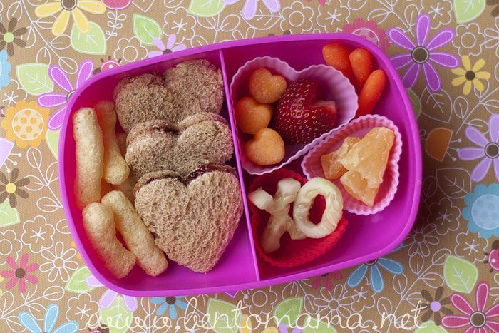 Heart You: Valentine's Day Lunch Ideas: A healthy lunch filled ...