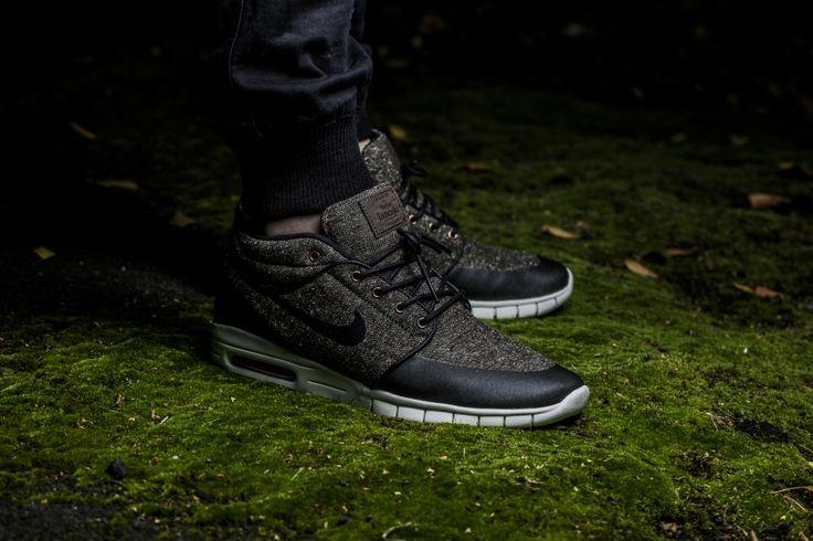 Nike - SB Stefan Janoski Max Mid (braun / schwarz) - 807507-206