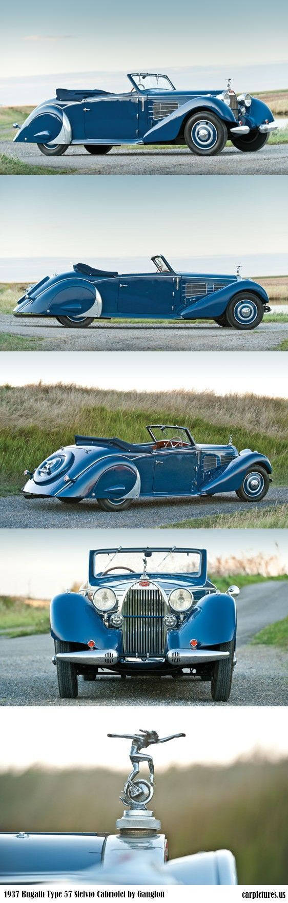 1937 Bugatti Type 57 Stelvio Cabriolet by Gangloff...Special cars need special Insurance coverage that's #affordable...Brought to you by #HouseofInsurance #EugeneOregon