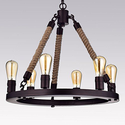 Cheap Bar Hanging Lamps Buy Quality Lamp Directly From China Chandelier Loft Suppliers Retro Iron Cafe Restaurant Creative