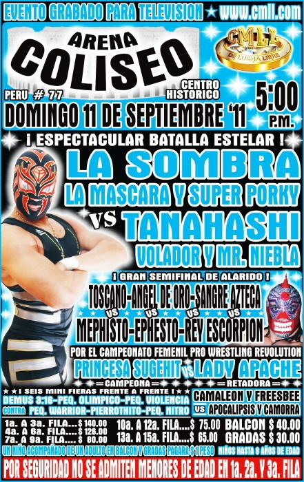Lucha Poster