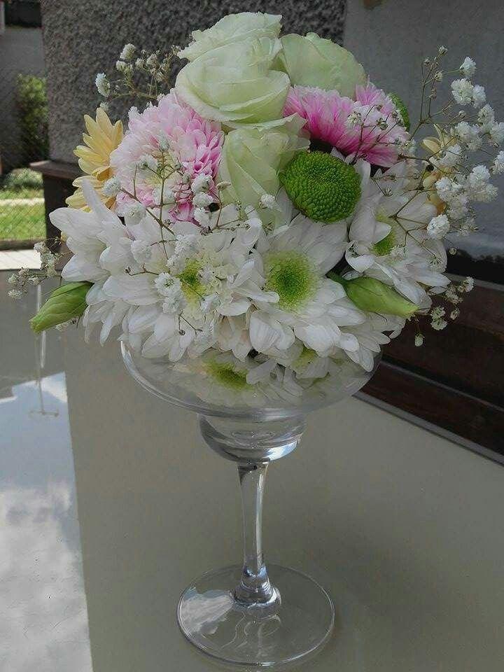 Kula kwiatowa dekoracja stołu #MMH#