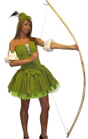 Robin Hood costume, Pant costume hire, female Robin Hood fancy dress hire in Suffolk