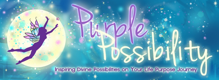Purple Possibility: Inspiring Divine Possibilities on Your Life Purpose Journey    The Purple Possibility Project is a more playful, whimsical version of my deeper Life Purpose Legacy work. It's a fun approach to looking at the path of our life story and how it reveals our true divine purpose - our mission in this lifetime should we choose to fully receive it. By connecting the dots of synchronicity and following the thread of purpose - where would we land? And what doors would open from…