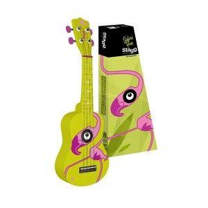 STAGG US-Flamingo -  sopránové ukulele