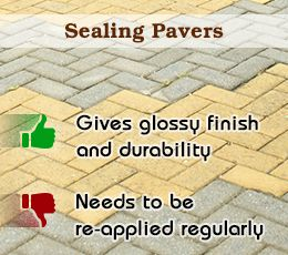 Pros and Cons of Sealing Pavers: Tip! Seal the pavers every 1-2 years using a sealant that… #Life_Style #pros_and_cons_of_sealing_concrete