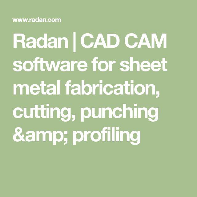 Radan | CAD CAM software for sheet metal fabrication, cutting, punching & profiling