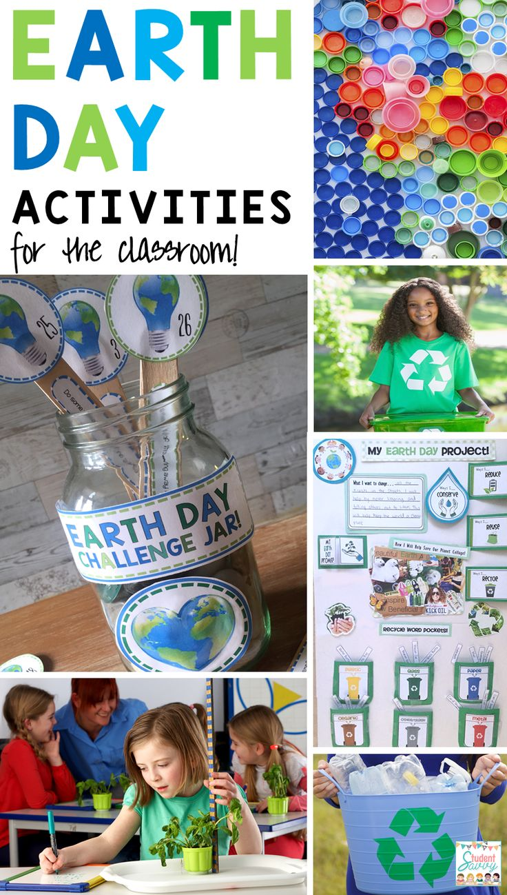 Earth Day Activities for the Elementary Classroom! Upper Grade activities included! http://studentsavvyontpt.blogspot.com/2016/04/earth-day-activities-for-elementary.html