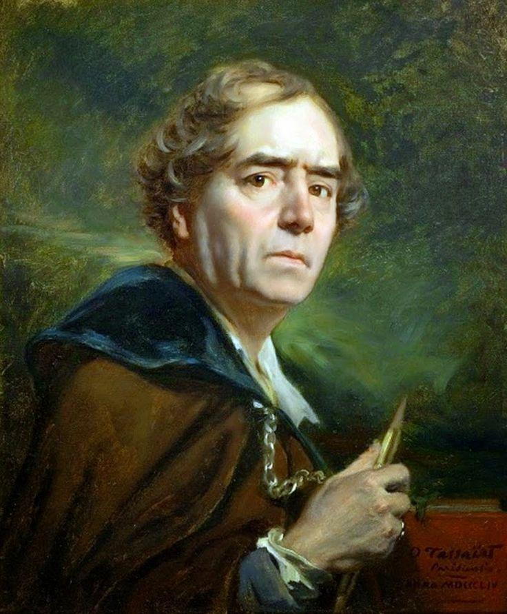 "Resultado de imagem para Octave Tassaert. ""Self-portrait"". 1854."