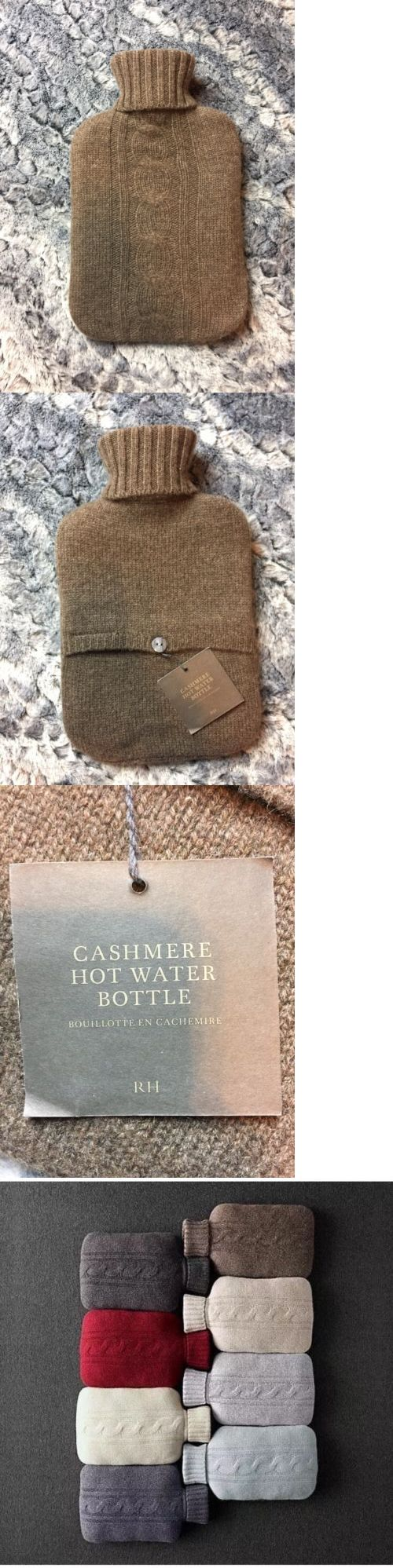 Hot Water Bottles and Covers: Nwt Restoration Hardware Cashmere Hot Water Bottle Chocolate Brown -> BUY IT NOW ONLY: $41.99 on eBay!