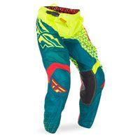 fox motocross gear | Fly Pantaloni Kinetic Mesh Trifecta