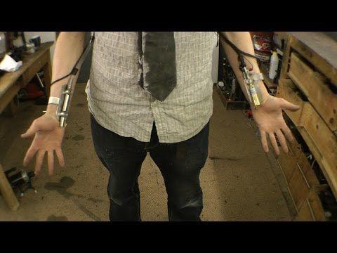 DIY X-MEN Making PYRO's Fire control - YouTube
