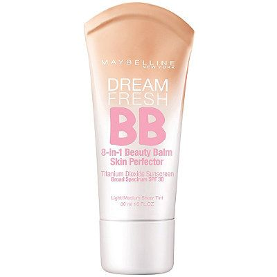 Maybelline Dream Fresh BB 8-In-1 Beauty Balm Skin Perfector Light/Medium; Need to try medium/deep