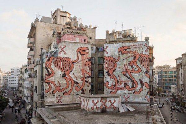 Стрит-арт свободного художника (18 фото)