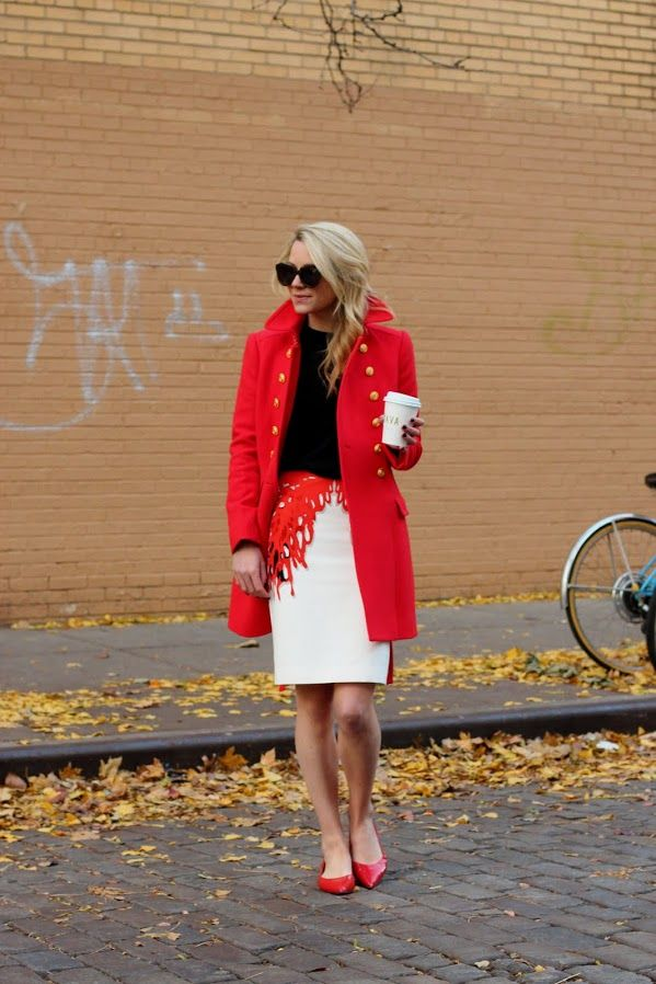 1000 Ideas About Coral Pencil Skirts On Pinterest