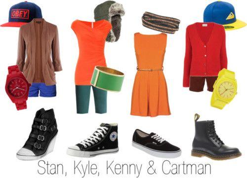 Stan, Kyle, Kenny & Cartman, South Park