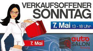 7. Mai, 24. Limburger AutoSalon und verkaufsoffener Sonntag