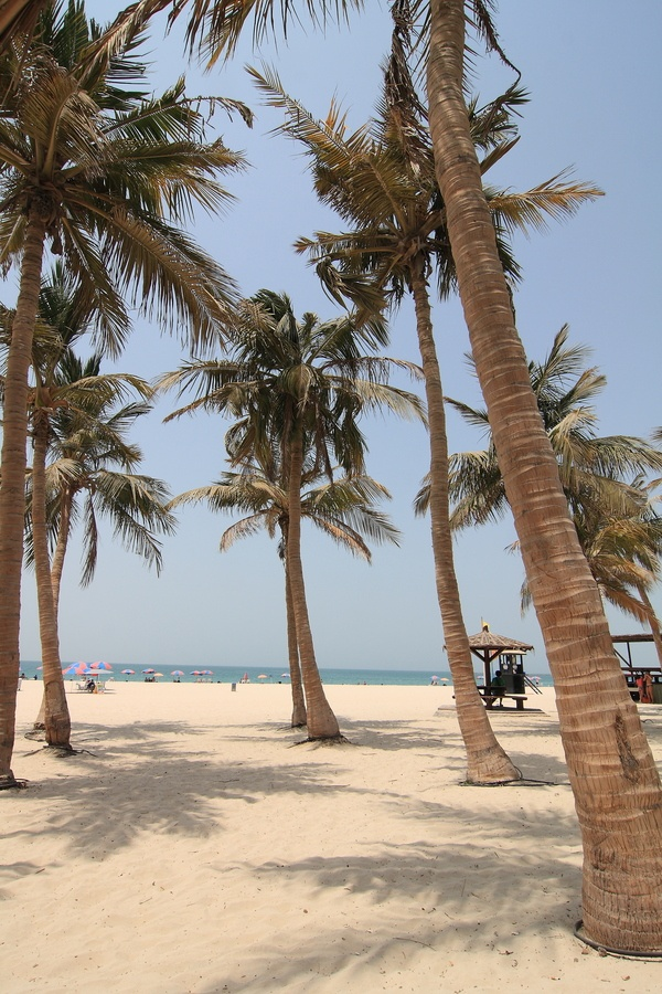 Beaches in Dubai for solo travelers