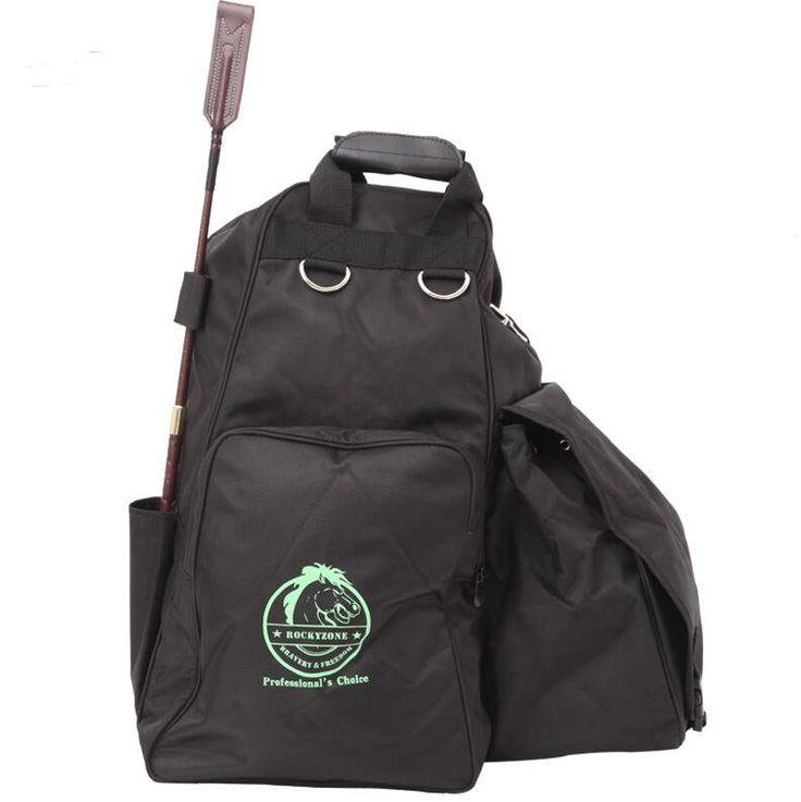 Boots Helmet Bag Professional Saddleries Bag Multifunctional Helmet Horse Riding Saddleries Equestrian Bags
