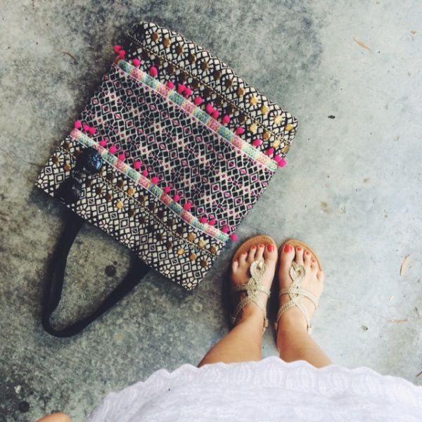 Jindalee Just Jeans dress AUD$49.95   DFO Jindalee Cotton On bag AUD$10 and sandals 3 for AUD$10 https://www.facebook.com/DFOJindaleeQLD