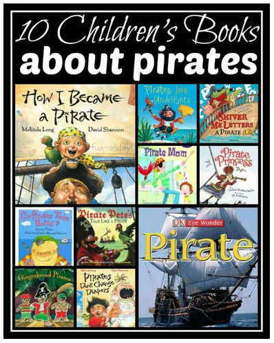 "The Library Voice: Let's Celebrate ""Talk-Like-A-Pirate Day"" On September 19 With Books & Digital Fun About Pirates, Treasure Maps & Even Pirate Talk!"