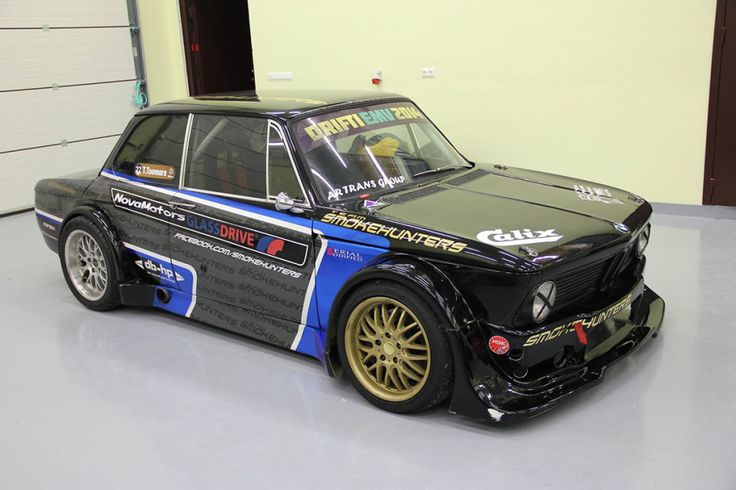 Smokehunters' 1973 BMW 2002 With A 2JZ-GTE