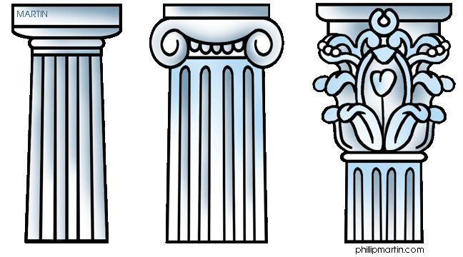 Greek Columns - Doric, Ionic, Corinthian - Ancient Greece for Kids