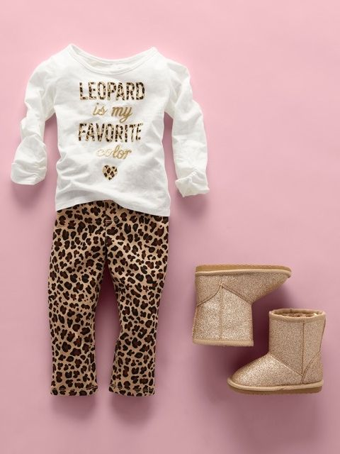 """Leopard is my favorite color"" 