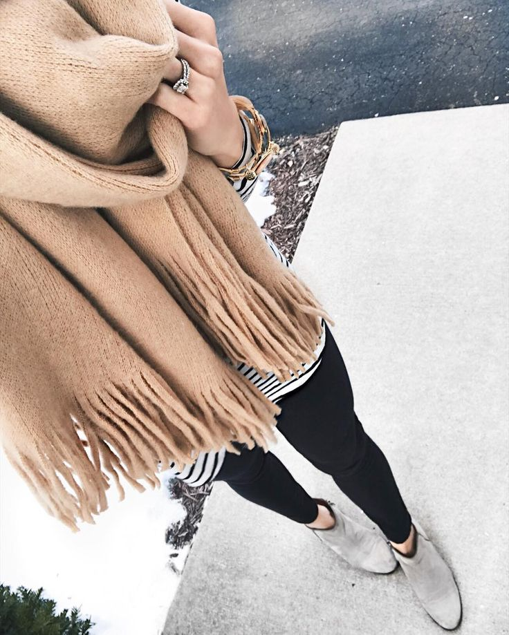 Clearly digging the fringe scarf trend.   This camel colored one is from @ilymix and comes in a few different colors! It's as soft as it looks in the photo too.  You can get 20% off your purchase with my code 'taymbrown20' at checkout!  Who's excited for The Bachelor premiere tonight?!  || http://liketk.it/2q1Ge @liketoknow.it #liketkit