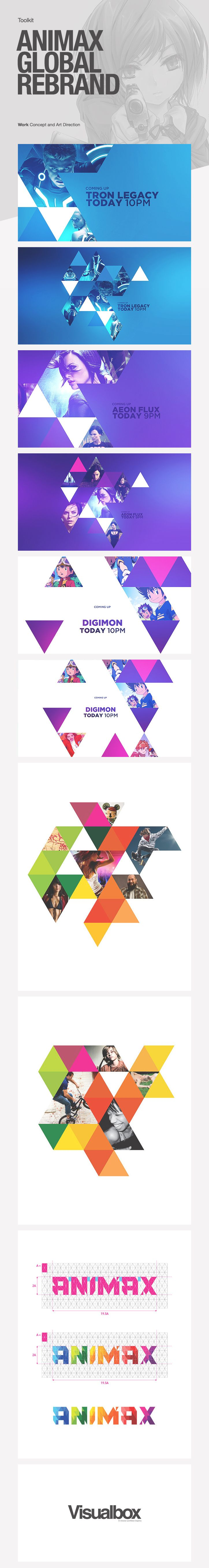 Animax Global Rebrand
