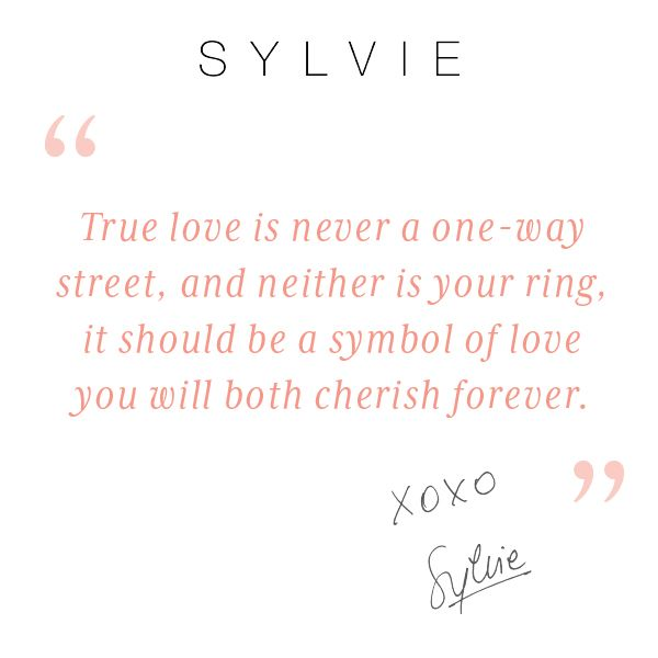 Find Your True Symbol Of Love In Your Sylvie Engagement Ring Today