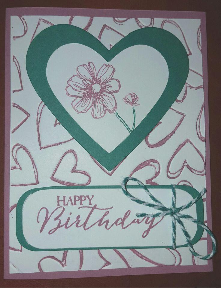 Sugarplum and emerald, colored embossing folder
