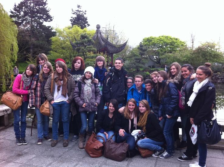 Albertville group at Dr. Sun Yat-Sen Garden