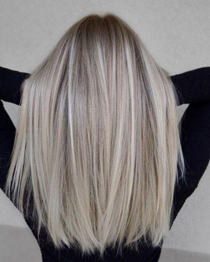 Super Hair Cuts Long Ombre Ash Blonde 43 Ideas – #…